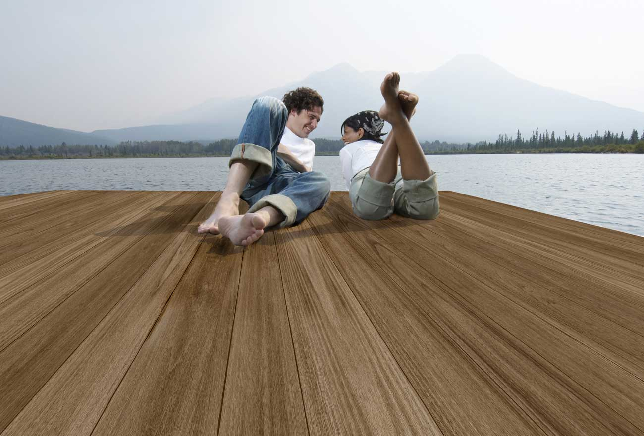 Intellideck Walnut Installation